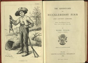 Adventures of Huckleberry Finn, frontispiece, title-page