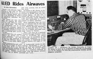 Utah Daily Chronicle, January 14, 1958