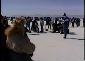 Racers and spectators gather for World of Speed 1997.