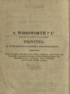 S. Woodworth & Co., Printers