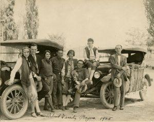 Babcock players, 1925