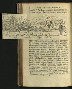 Fold Out Illustration from Morias Enkomion 1676.