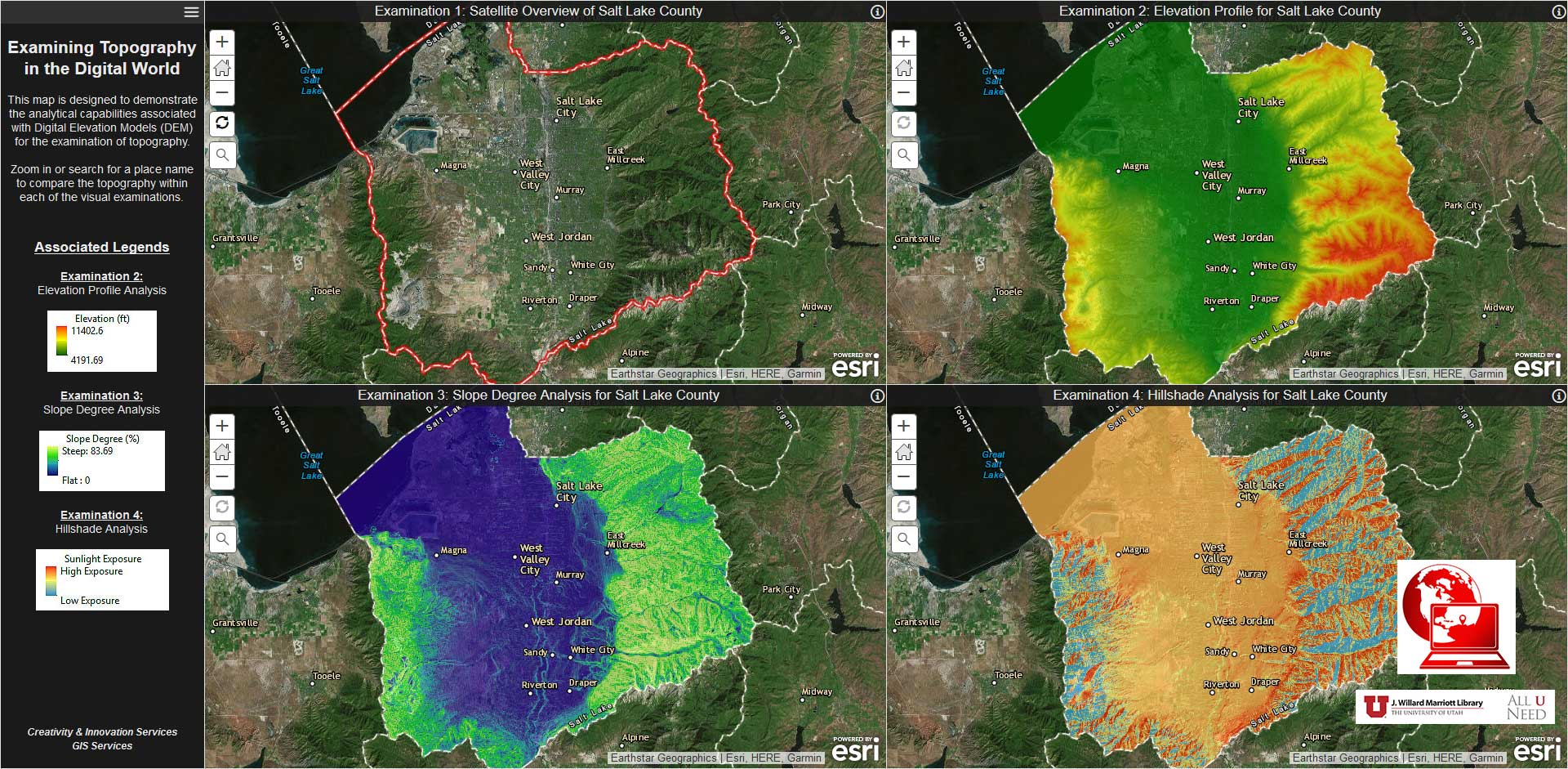 Examining Topography In The Digital World Newsletter - World topography