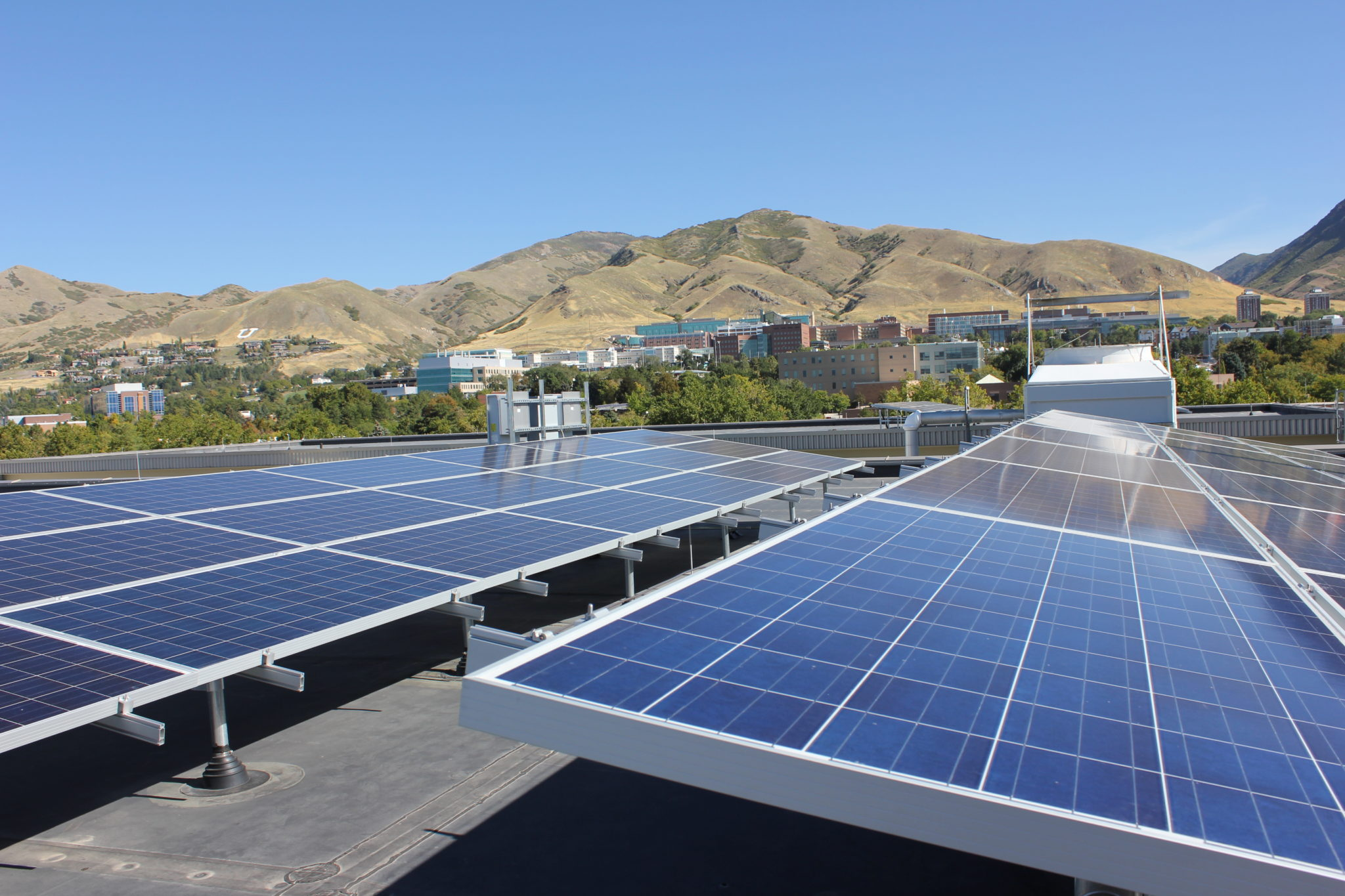 About the Library's Solar Panels