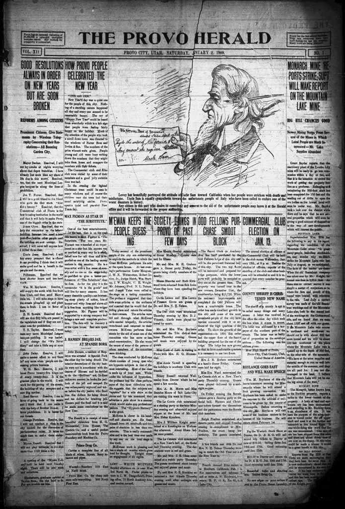 1909 Provo Herald