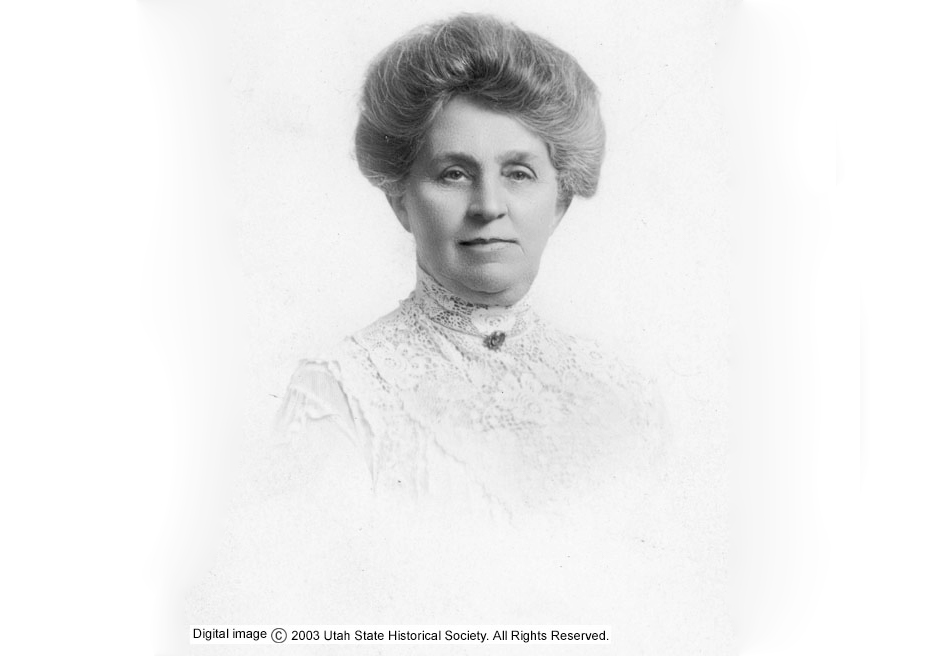 Seraph Young, a niece of Brigham Young, was the first woman to legally vote in the United States. In 1870, Utah became one of the first territories/states to grant women full voting rights.