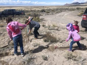 Geode Hunting, Dugway Geode Beds