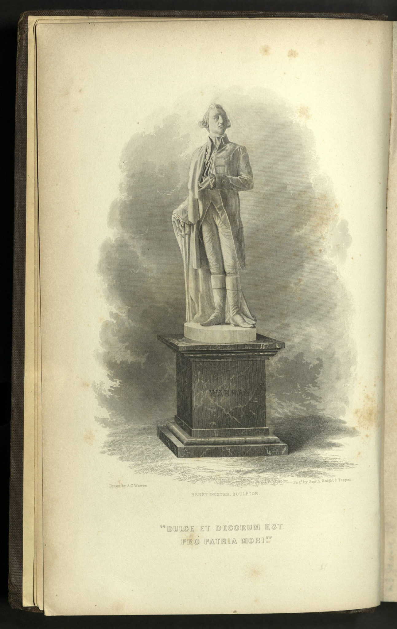 statue of Joseph Warren