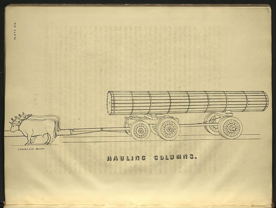 "elevation ""Hauling columns"""