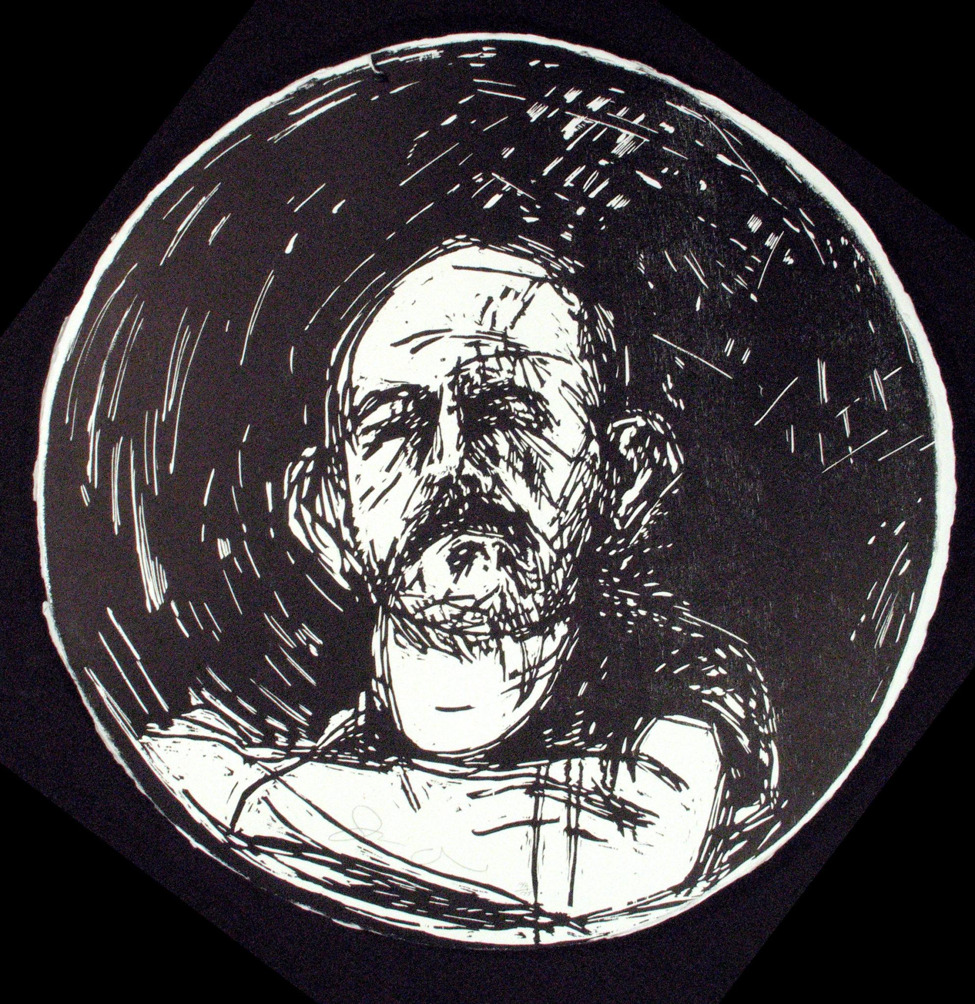 portrait of John Ashbery