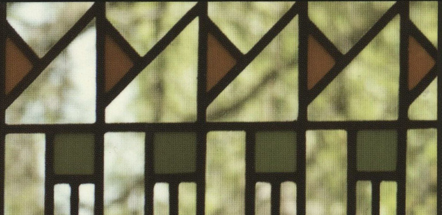 Detail of Bach House window