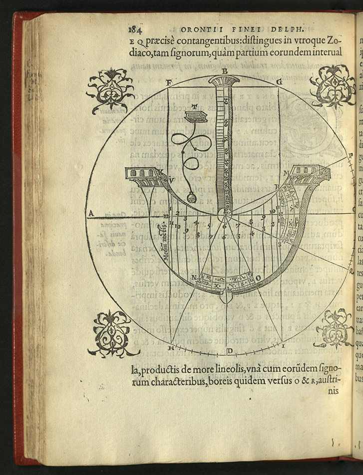 page with diagram of ship-shaped dial
