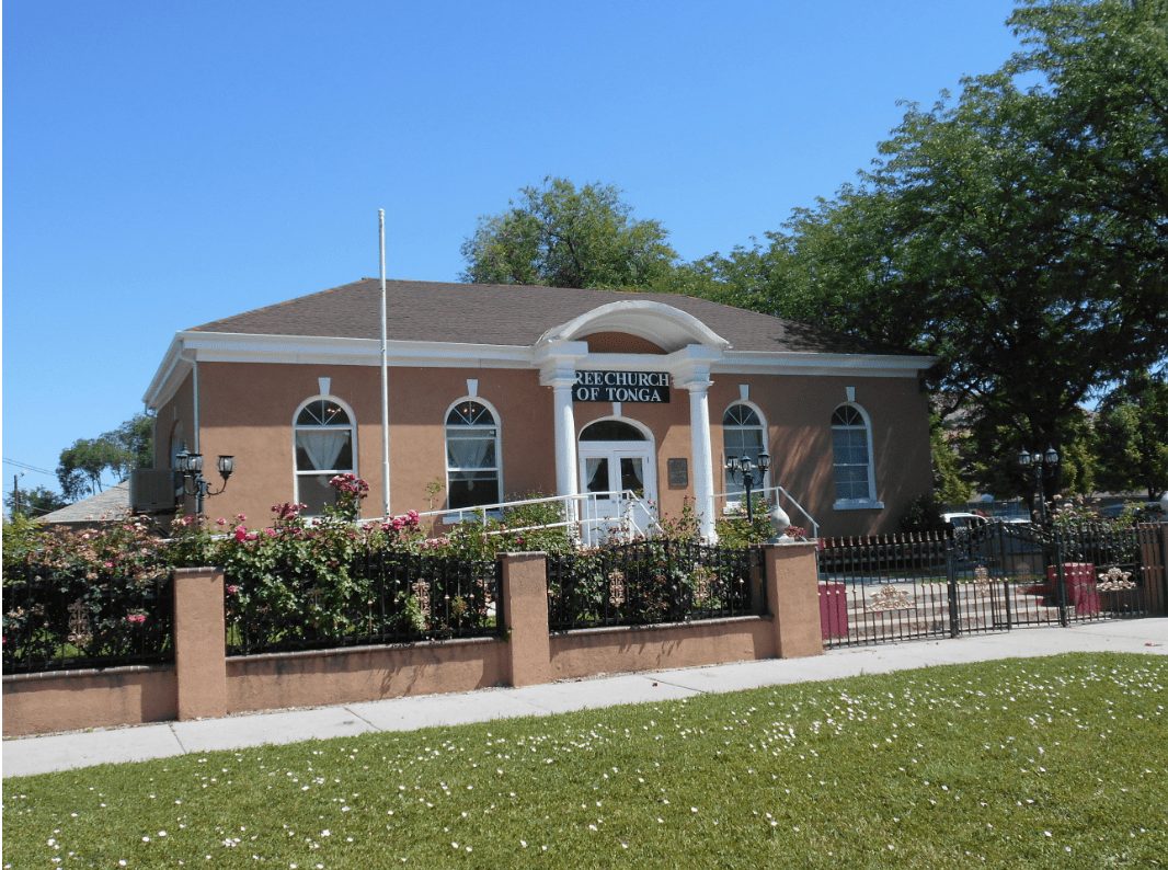 Free Church of Tonga (former Salt Lake City library, John D. Spencer Branch)