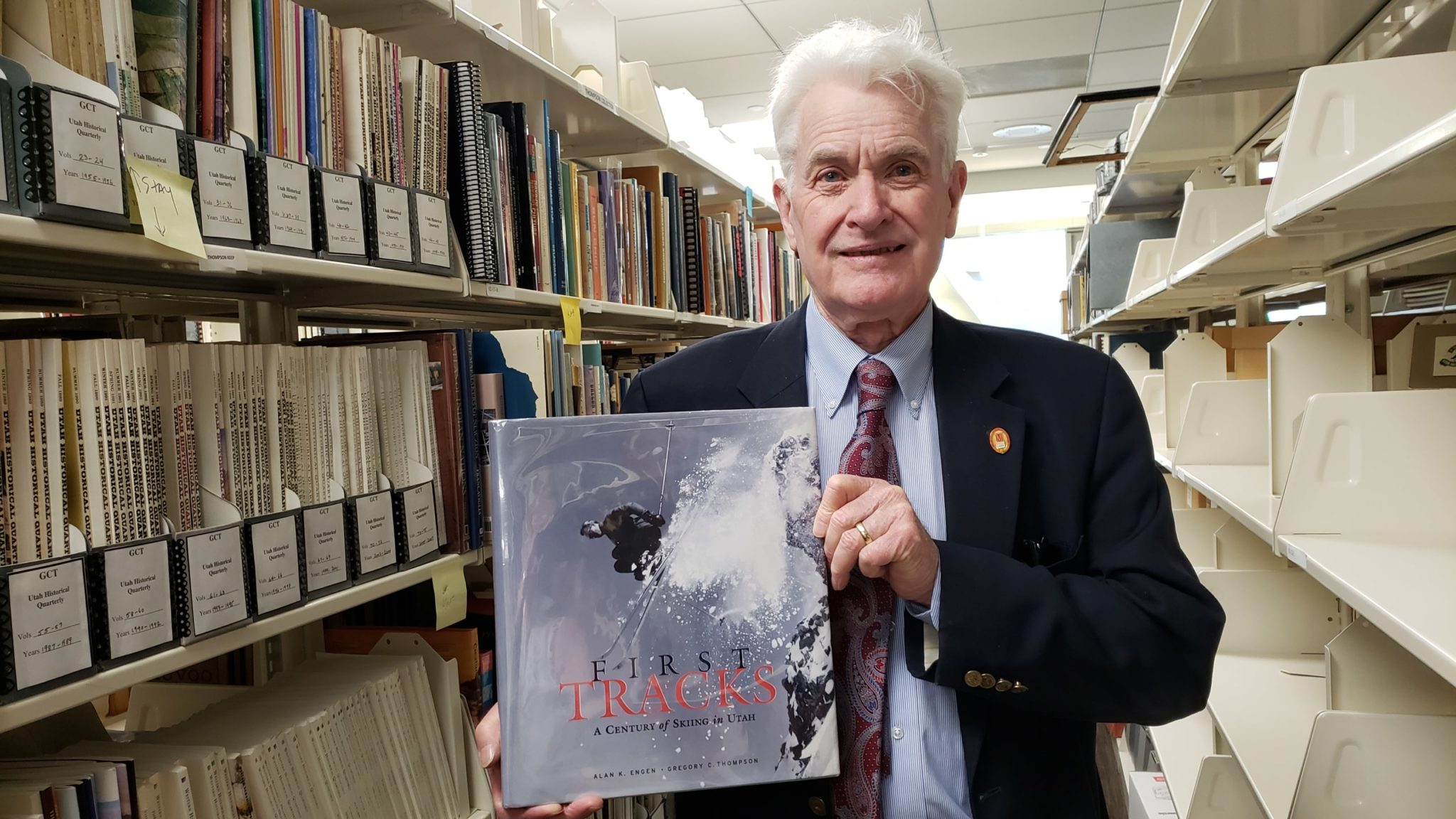 With Alan K. Engen, Greg co-authored the book First Tracks: A Century of Skiing (2001), which focuses on the history of skiing in Utah.